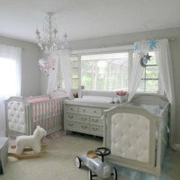 Boy/Girl Twin Elegant Nursery