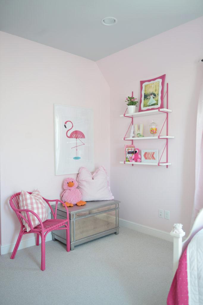 bedroom chair wayfair best office for posture reddit floral flamingo - project nursery