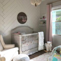 Swivel Chair Pottery Barn Wicker Nest Sweet Baby Girl Nursery - Project