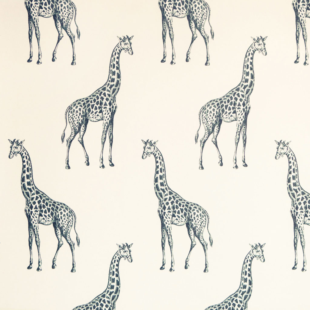 Abnormals Anonymous Nursery Safari Wallpaper | Little Crown Interiors