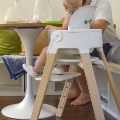 First Step High Chair Best Foldable Lawn Stokke Steps Up The Game Project Nursery