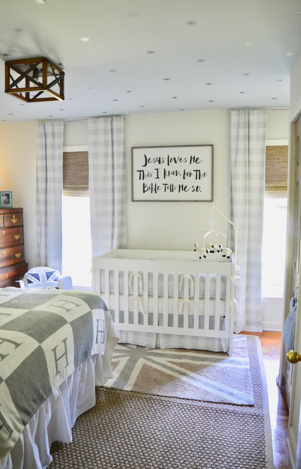 Give Me a Home Where the Buffalo Check Roams  Project Nursery