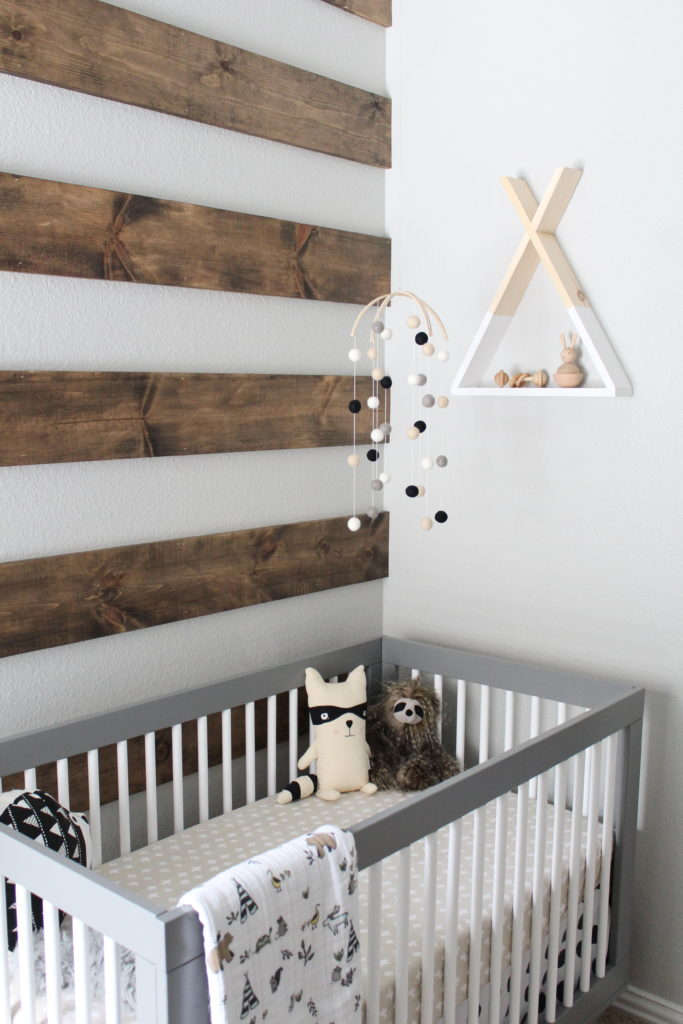 white x back chair red chairs for office bryce's rustic meets modern monochrome nursery - project