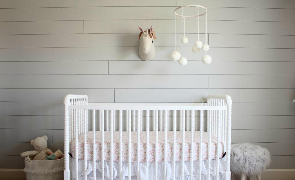 Modern Girl Bedroom Wallpaper Shiplap Design Ideas For The Nursery Project Nursery