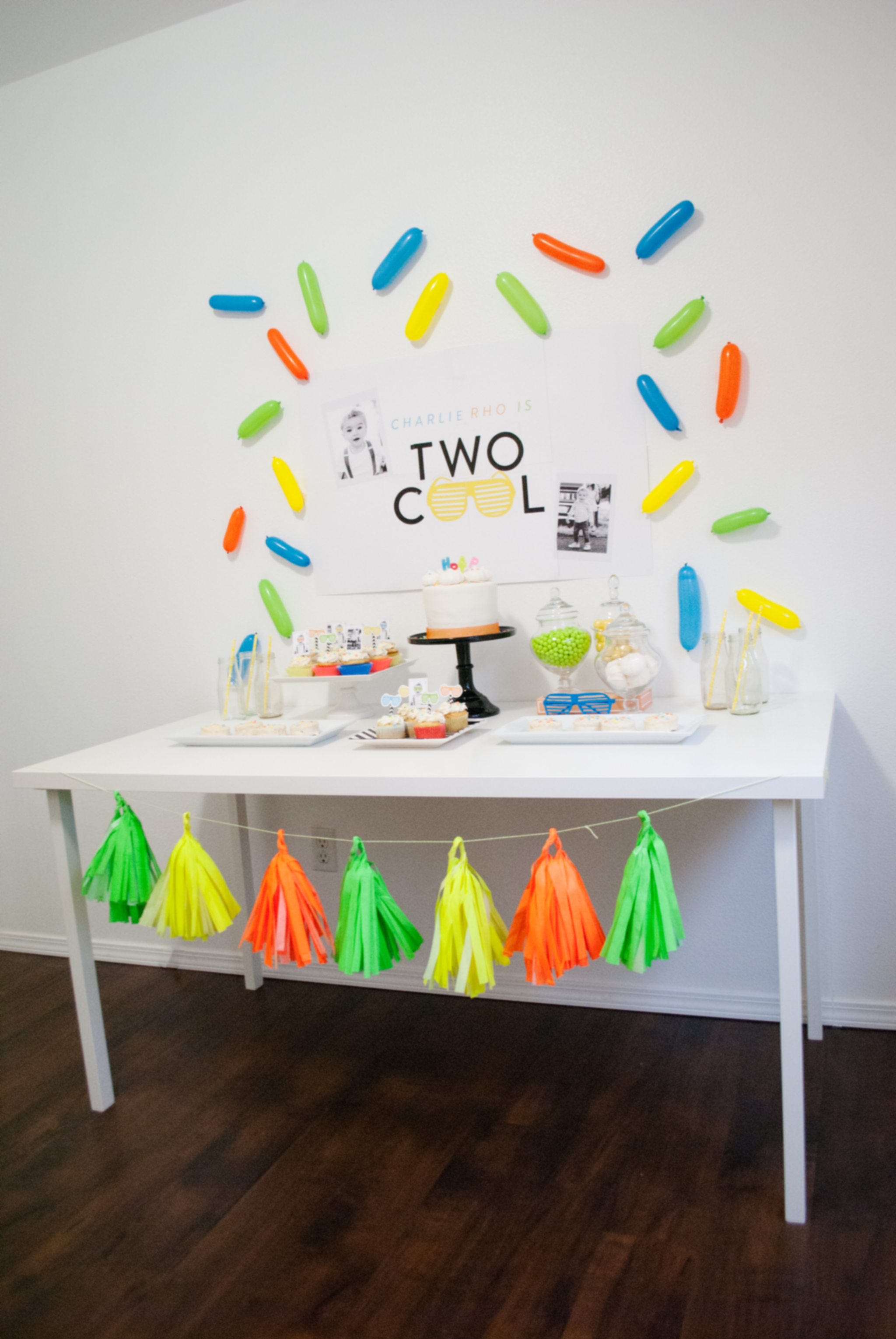 Stunning! A Two Cool Birthday Party That'll Have You Reaching For Your Sunglasses