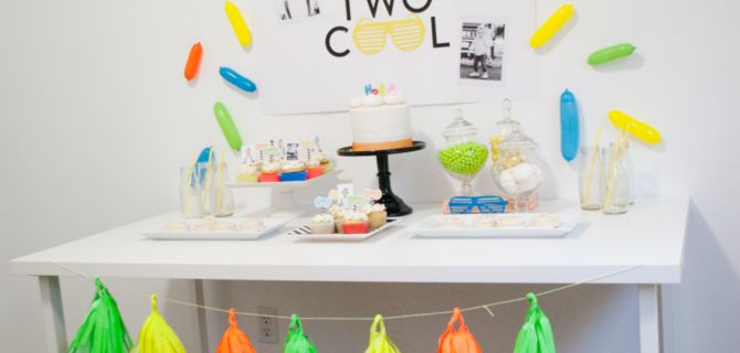 A Two Cool Birthday Party That'll Have You Reaching for Your Sunglasses