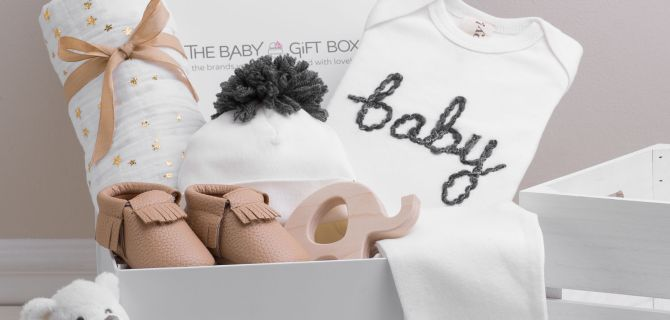 Perfectly Curated and Beautifully Packaged Baby Gifts as Easy as the Click of a Button