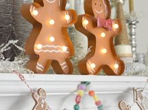 Add candy-like decor to your Gingerbread House Decorating Party!