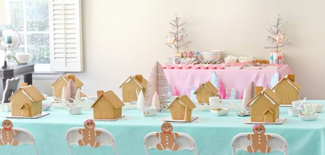 'Tis the Season for a Gingerbread House Party!