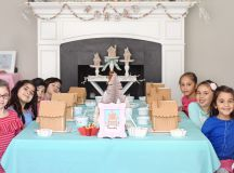 Make sure you have a big table so the kids have plenty of room to decorate!