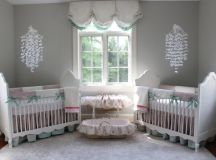 22 Inspiring Twin Nurseries + Pro Tips on Designing It! images 2