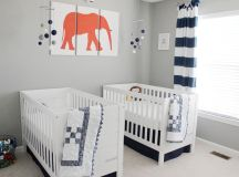 22 Inspiring Twin Nurseries + Pro Tips on Designing It! images 3