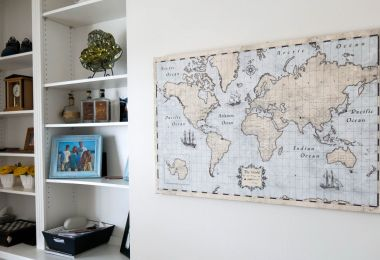 Nurture Your Family's Wanderlust with this Pinnable Map
