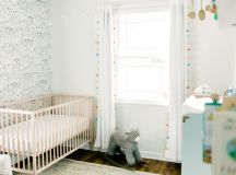 Neutral Nursery with a Pop of Color