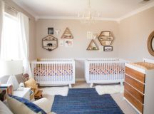 22 Inspiring Twin Nurseries + Pro Tips on Designing It! images 0