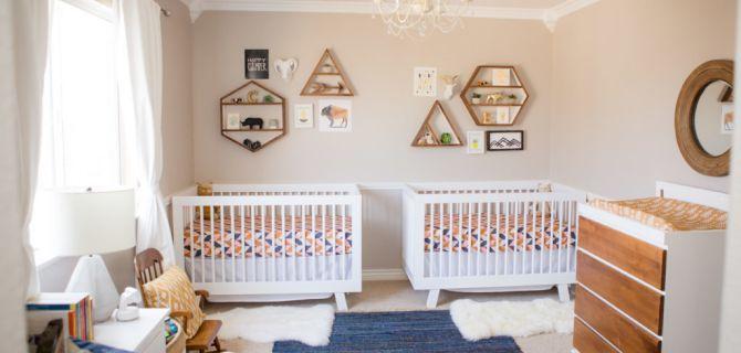 22 Inspiring Twin Nurseries + Pro Tips on Designing It!