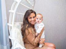 Vanessa Lachey and Baby Phoenix