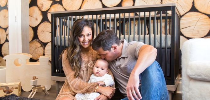 In the Nursery with Vanessa and Nick Lachey