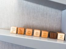Personalized Wooden ABC Blocks