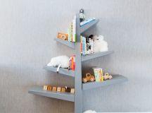 Tree Bookshelf in Vanessa and Nick Lachey's Nursery