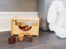 Vanessa and Nick Lachey Nursery Wooden Shape Sorter