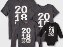 Matching Family 2018 Tees
