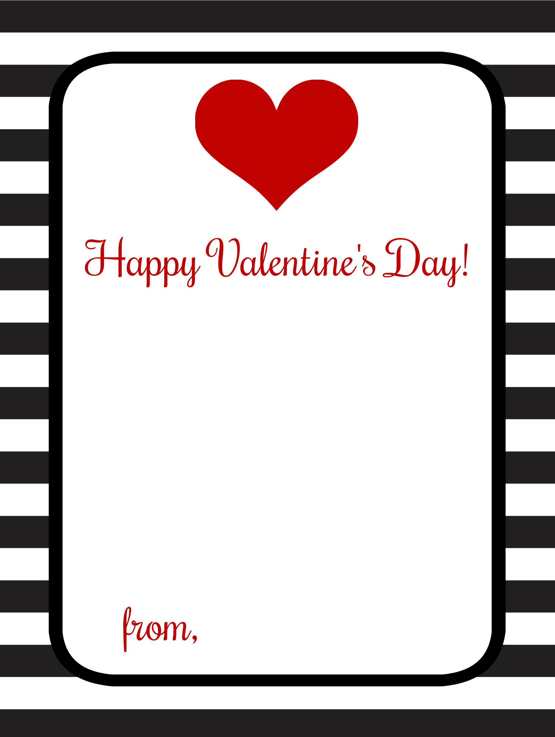 Candy Free Valentine Ideas With Free Printables