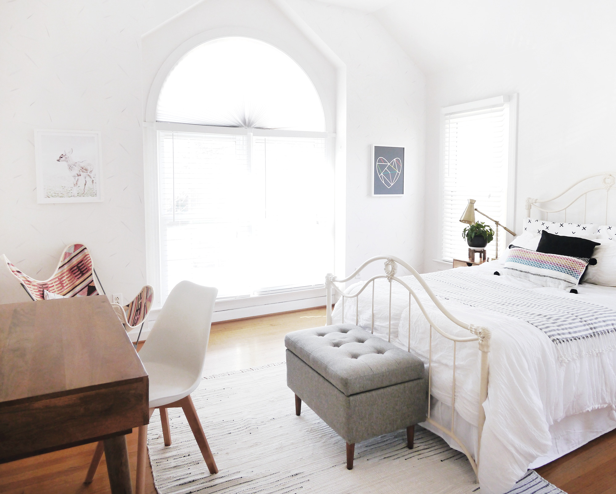A Bohemian Inspired Room  Tour this Inviting and Charming