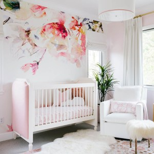 nursery floral flower decor bedroom nurseries projectnursery project wall roundup ultimate trending decoration boy decals pink chambre blush inspirations favorite