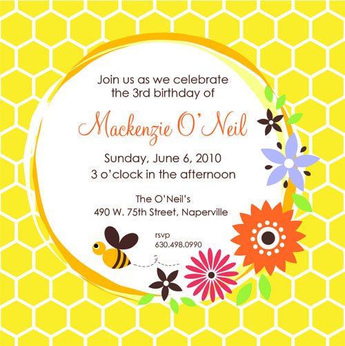 Bumble Bee Birthday Bash
