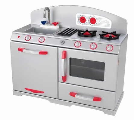 play kitchens for boys kitchen aid icemaker required with this one so parents beware but if you have the space a large like in your room or playroom is wonderful choice