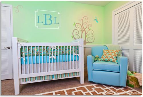 gender neutral unisex nursery design ideas