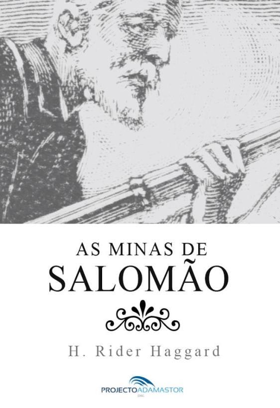 As Minas de Salomão - Capa