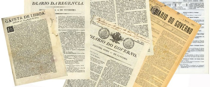 Novidades da Hemeroteca Digital: 300 Anos de Imprensa Oficial Portuguesa