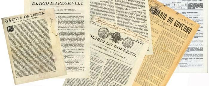 Novidades da Hemeroteca Digital: 300 Anos de Imprensa Oficial Portuguesa
