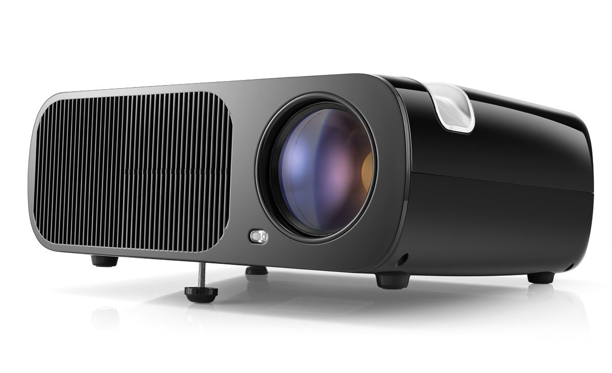 Video Projector, Pomarks Q2 HD Projector