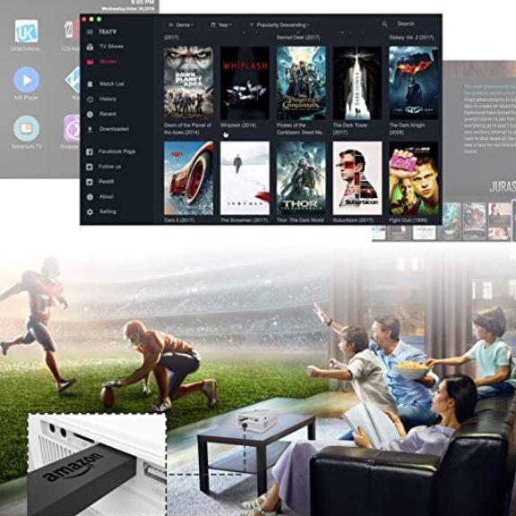 qkk qk03 mini projector review