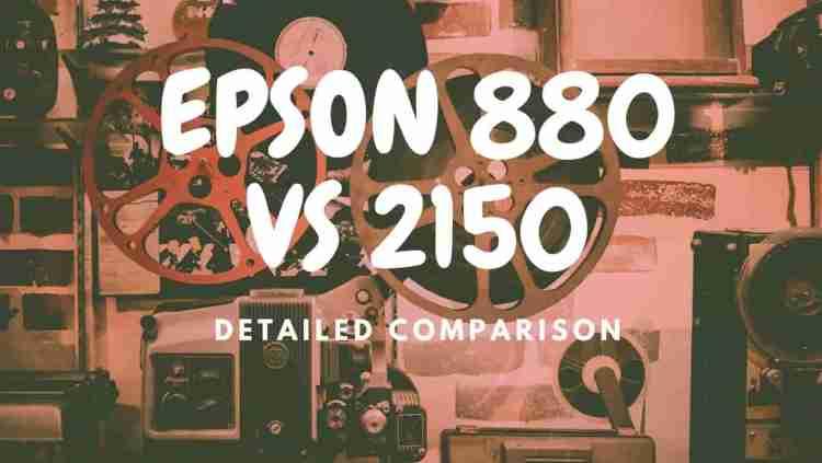 EPSON 880 VS 2150