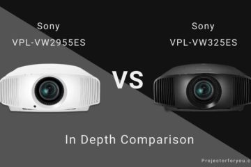 SONY VPL-VW295ES vs VPL-VW325ES In Depth Comparison