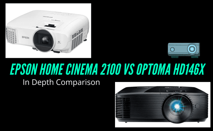 Epson Home Cinema 2100 vs Optoma HD146X