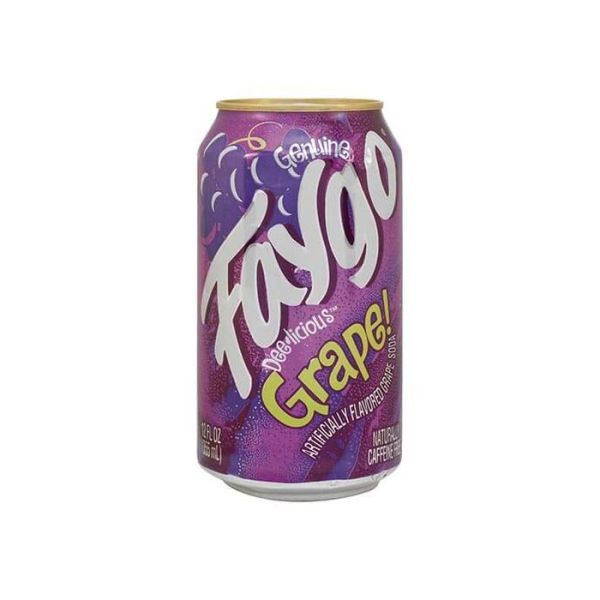 Faygo Grape Cans 355ml - American Drink in Germany