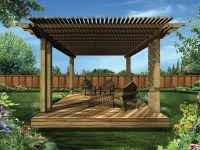 Maryknoll Shaded Deck Plan 002D-3008 | House Plans and More