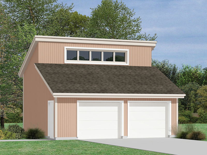 Prima 2-Car Garage Plan 002D-6015