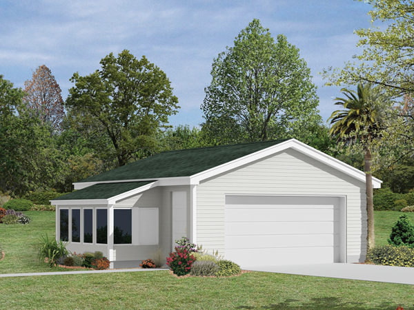 Katrina Garage With Greenhouse Plan 002d 6029 House