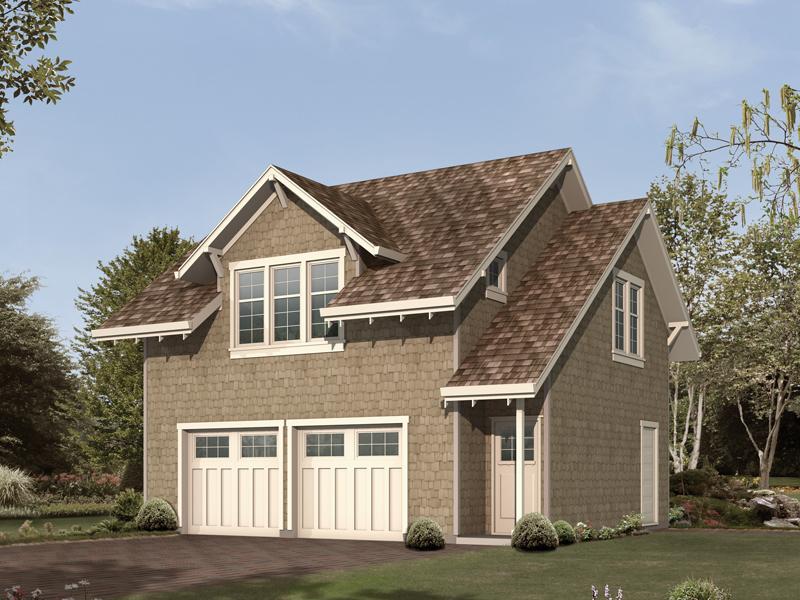 Palmerhill Garage Apartment Plan 012D-7501
