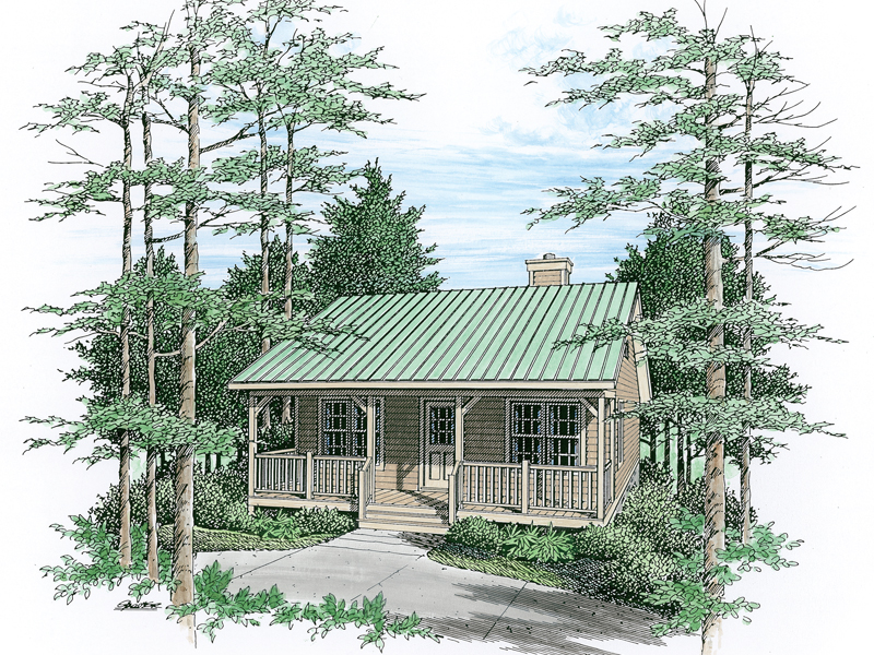Twinsburg Country Cabin Plan 059D7501  House Plans and More