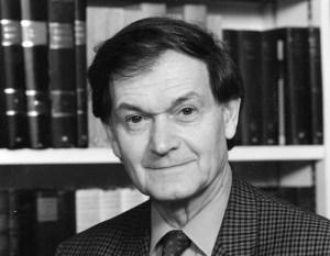 Sir Roger Penrose. 1985 approx.