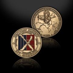 New bentprop project coin showing commitment of bentprop going world wide