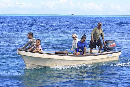the diwi family fishing trip palau