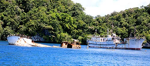 palau anchorage searched by bentprop palau